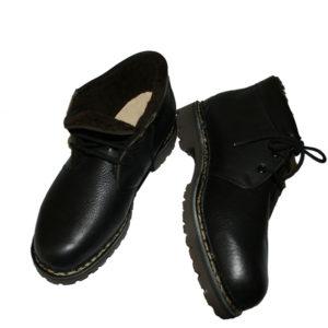 Lavitus Classic Boots Angus Black mit Lammfell