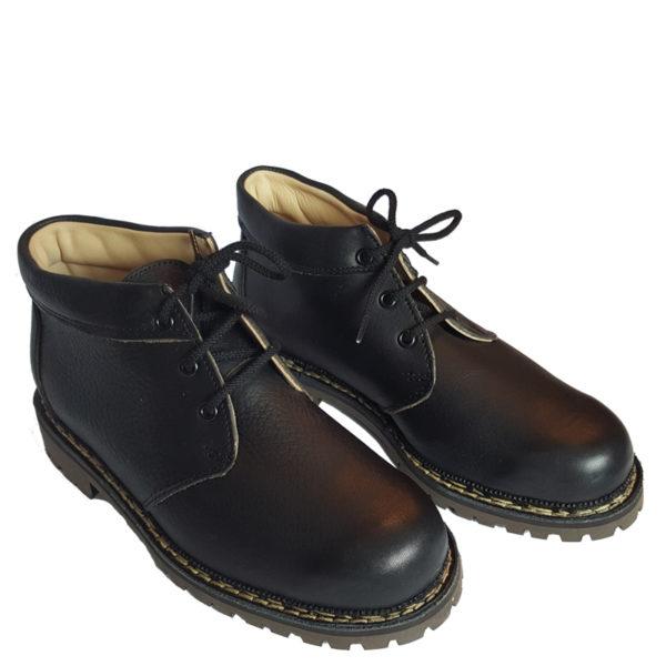 Lavitus Classic Boots Juchten schwarz