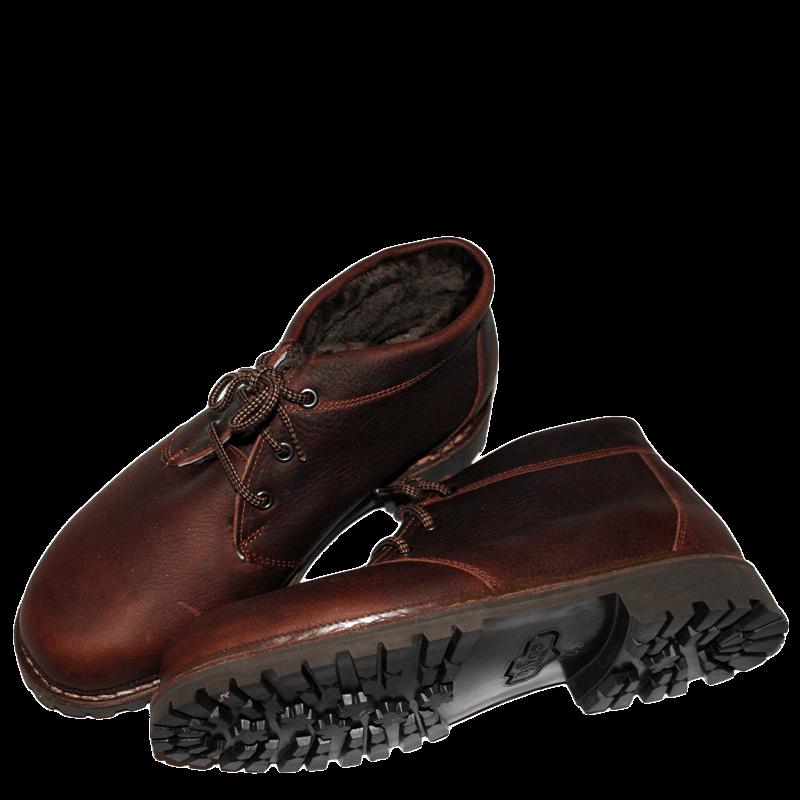 Lavitus Classic Boots Büffel mit Lammfell